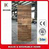 Porte en bois intérieure de vente chaude de faisceau solide non fini rustique de type