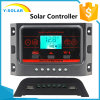 controlador 5V/2.5A Ysn-20A solar do Duo-USB do luminoso de 12V/24V 20AMP