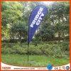 Bandierina blu della bandiera del Teardrop della spiaggia di colore di promozione esterna
