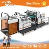 Compacto automático de la película de papel térmico de contrachapado de MDF laminado en caliente máquina