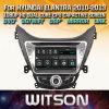 Witson Windows Rádio leitor de DVD estéreo para a Hyundai Novo Elantra I35 Avante 2010 2013
