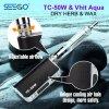 Seego Vhit 물 & Tc 50W 왁스 기화기 건조한 나물 분무기 지능적인 시동기 장비