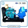 O motor diesel da bomba de água de escorva automática para controle de inundação