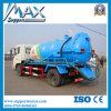 Sinotruk Light Sewage Suction Truck avec Small Engine