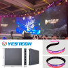 Pantalla de interior flexible de alquiler de la etapa a todo color LED