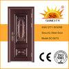 Portes en acier de bonne qualité de couleur de cuivre (SC-S072)