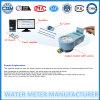 Contador de água pré-pagos com sistema de pré-pagamento