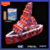 Espuma Environmental Bandage para Kids Toy Bricks