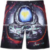 Swimwear pieno di Short della scheda degli uomini del poliestere della vita della stampa di Oeko-Tex 3D