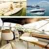 het Jacht van de Visserij van de Snelheid van Fibergalss van de Boot van de Buitenboordmotor van 6.7m