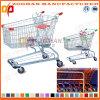 Niedriger Preis-Supermarkt-amerikanische Art-Zink-Einkaufswagen-Laufkatze (Zht41)