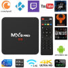 Android TV Box Amlogic S905w+ de 2 GB de RAM 16 GB de ROM Decodificador inteligente con teclado inalámbrico WiFi