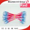 Alto-Brightness LED Rojo-Color Perforation Lamp String con F5 LED Headlamp