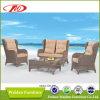 Sofà rotondo di lusso della mobilia del rattan (DH-193)