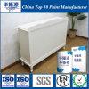 Peinture blanche mate de meubles de Hualong pour le bois