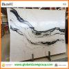 De nieuwe Marmeren Materiële Witte Marmeren Plakken van de Panda van China