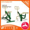 Extensión al aire libre de la pierna del equipo de la gimnasia de Commerical del amaestrador del ABS para la venta