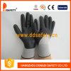 2017 Ddsafety нейлон черного цвета черный нитриловые перчатки из пеноматериала с маркировкой CE