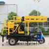세발자전거 트럭에 의하여 거치되는 이동할 수 있는 소형 우물 드릴링 리그 (XYX-200)