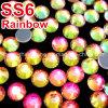 服(SS16 Rainbow/3Aの等級)のためのカスタマイズされた熱い苦境のラインストーンDMC