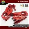 CNC Machining Aluminum Components para Bike com Red Anodizing