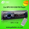 Coche audio MP3 del coche con el precio bajo portuario de radio teledirigido MP3-1138 de Am/FM USB/SD Bluetooth
