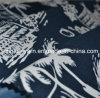 Tela do estilo do console da cópia da árvore de coco para o vestido/cuecas do verão