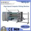 Computergestuurde High Speed Roll Slitting Machine voor Plastic (wfq-D)