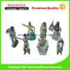 Figurine di ceramica del danzatore del modulo differente con l'europeo