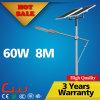 China Gold Supplier extérieur LED Solar Street Light 60W