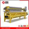 Filtre-presse automatique de bâti de plaque pour le concentré de cuivre