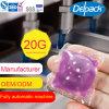 OEM&ODM 20g 세탁물 액체 세제 깍지, 농도 액체 세탁제 캡슐, 세척액 세제