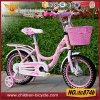 2016 популярных 16 или 20 розового цвета детский велосипед со стальной обод