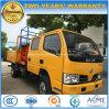 8-10メートルの二重タクシーの高揚力プラットホームのトラック