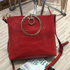 Sacos de ombro do couro genuíno das bolsas do desenhador para as mulheres Emg4590
