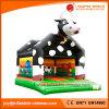 遊園地(T1022)のための膨脹可能な跳躍の城牛警備員
