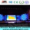 Alta definición P3.91 que funde la pantalla de visualización a troquel de alquiler de interior de LED del RGB