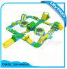 Parque de salto inflable del PVC de 0.9mm / patio del agua del océano para la venta