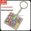 Spitzenverkaufs-kundenspezifisches Metallzeichen Keychain