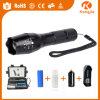 Ultra Bright Xml-T6 LED 18650 Oplaadbare Aluminium Zoom Tactical G700 zaklamp