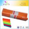Fluosecent Noen Farben-Krepp-Papier mit 30% 40% 60% 100% der Ausdehnung
