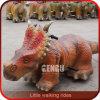Paseos del dinosaurio de la simulación de la alta calidad de la alameda de compras