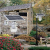 Apple солнечной энергии/персиковый цвет освещения улиц - все в одном для сада