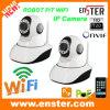 Câmera do IP do robô P/T WiFi com o cartão de 32g SD