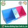 Rectángulo de papel de la visualización promocional colorida