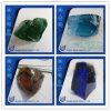 도매 진한 색 큰 유리제 돌