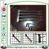 El Zinc mejor venta de 7cm a 14cm Gridwall ganchos de la pantalla de metal