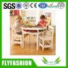 Lijst en Stoel de de van uitstekende kwaliteit van de Kinderen van het Meubilair van het Kinderdagverblijf (kf-02)