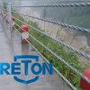 Rambarde de sûreté de rambarde de barrière de la barrière 5-Cable de corde de câble de B haute