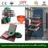 Telha de borracha de condução do exportador de China que faz a máquina/maquinaria de borracha do assoalho